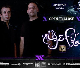 Aly & Fila - Open to Close