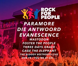 Rock for people 2017
