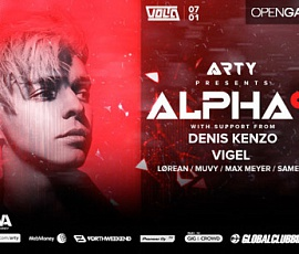 Arty Presents Alpha 9